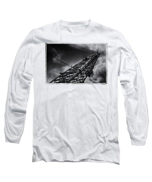 Dragline 553bw Long Sleeve T-Shirt