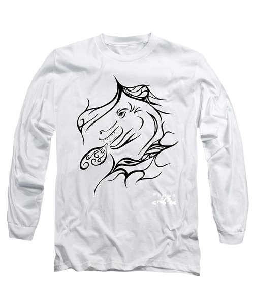 Dragon Long Sleeve T-Shirt by Jamie Lynn