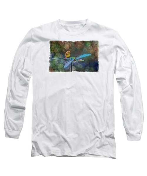 Long Sleeve T-Shirt featuring the photograph Dragon Rider by Constantine Gregory