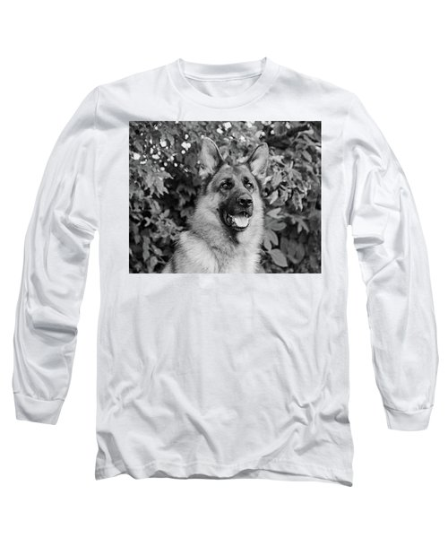 Long Sleeve T-Shirt featuring the photograph Drake Watching by Sandy Keeton