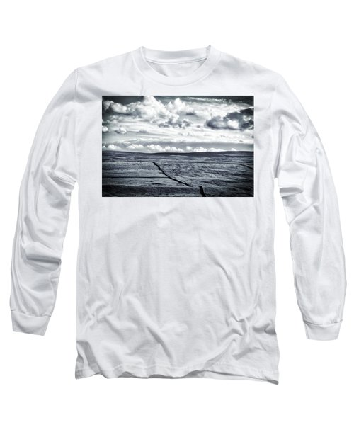 Dramatic Landscape  Long Sleeve T-Shirt by RKAB Works