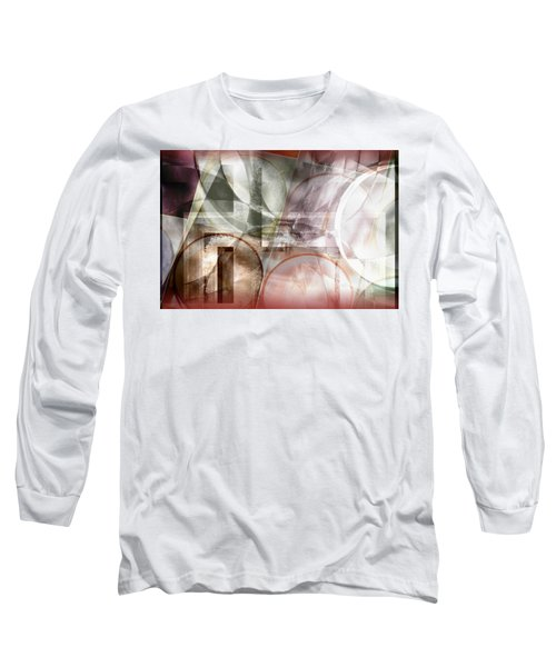 Drawing On A Frozen Lake Long Sleeve T-Shirt