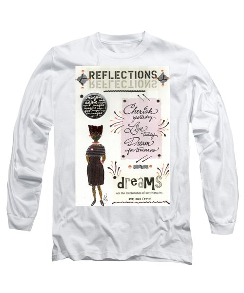 Dream For Tomorrow Long Sleeve T-Shirt by Angela L Walker
