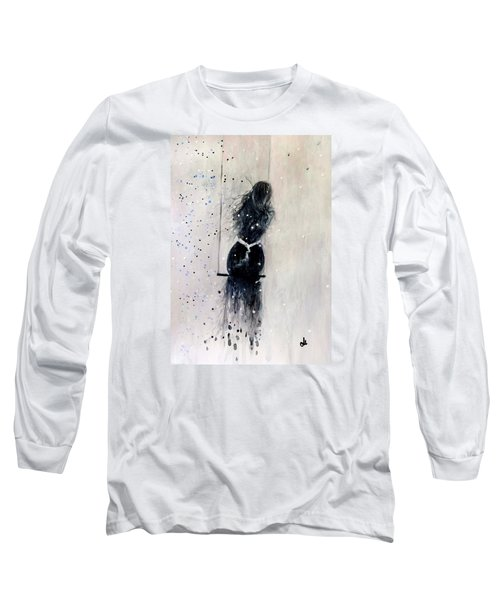 Long Sleeve T-Shirt featuring the painting Dreams Come True.. 6 by Cristina Mihailescu