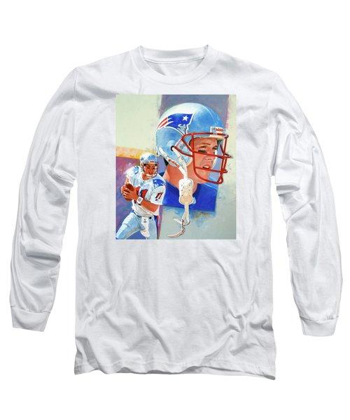 Drew Bledsoe Long Sleeve T-Shirt
