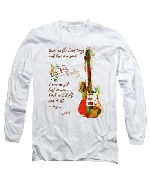 Drift Away Long Sleeve T-Shirt by Nikki Marie Smith