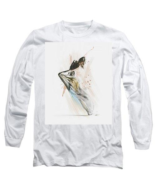 Drift Contemporary Dance Long Sleeve T-Shirt