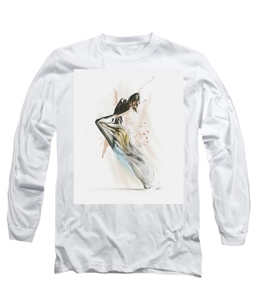 Drift Contemporary Dance Long Sleeve T-Shirt