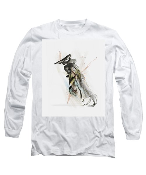 Drift Contemporary Dance Two Long Sleeve T-Shirt
