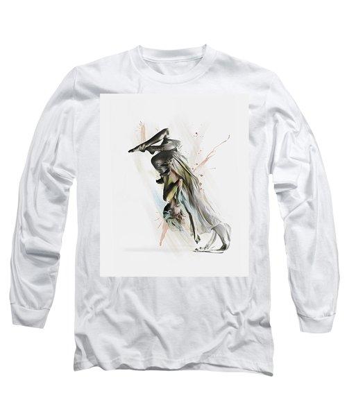 Drift Contemporary Dance Two Long Sleeve T-Shirt