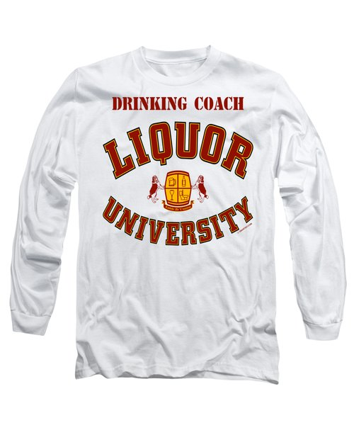 Drinking Coach Long Sleeve T-Shirt