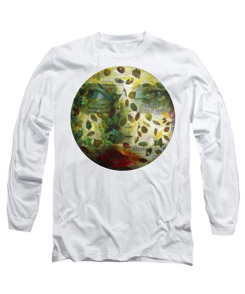 Long Sleeve T-Shirt featuring the painting Dripping Souls by Alfredo Gonzalez