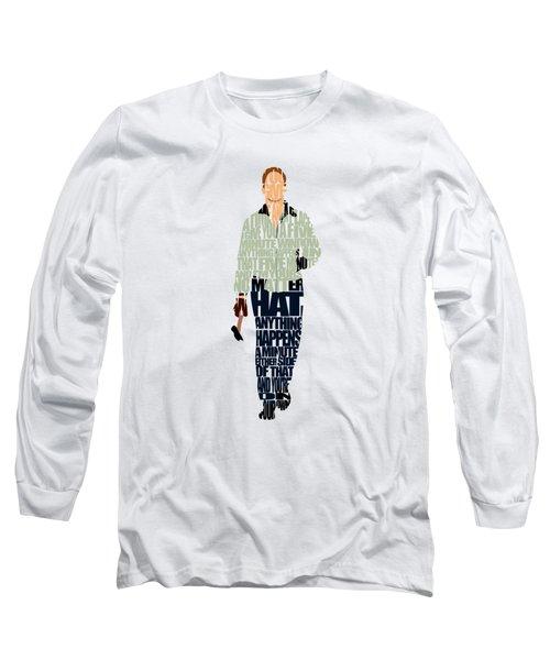 Driver - Ryan Gosling Long Sleeve T-Shirt by Ayse Deniz
