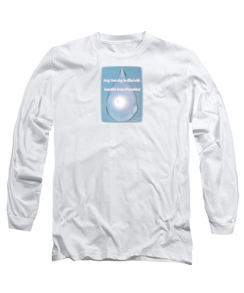 Drops Of Sunshine Long Sleeve T-Shirt