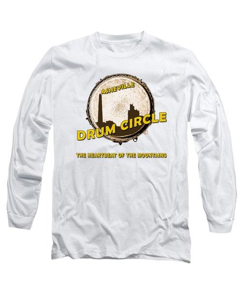 Drum Circle Logo Long Sleeve T-Shirt