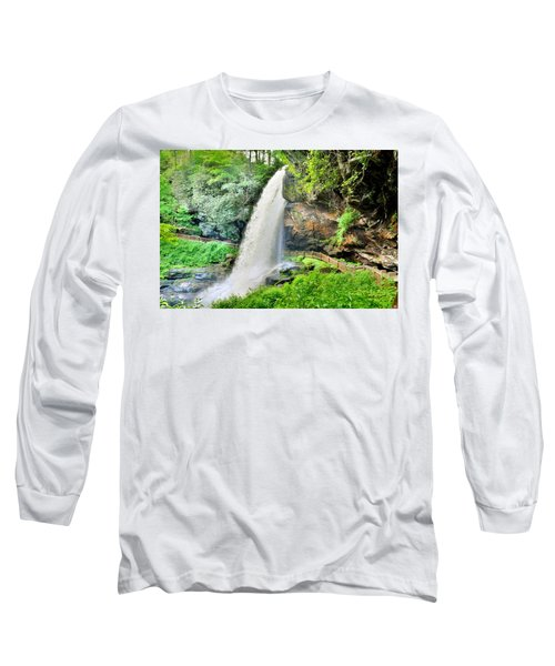 Dry Falls Highlands North Carolina 2 Long Sleeve T-Shirt