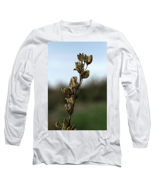 Drying Flower Long Sleeve T-Shirt