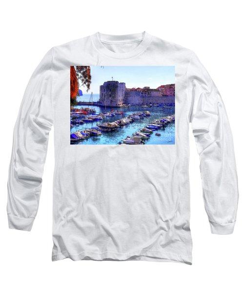 Dubrovnik Harbour Long Sleeve T-Shirt