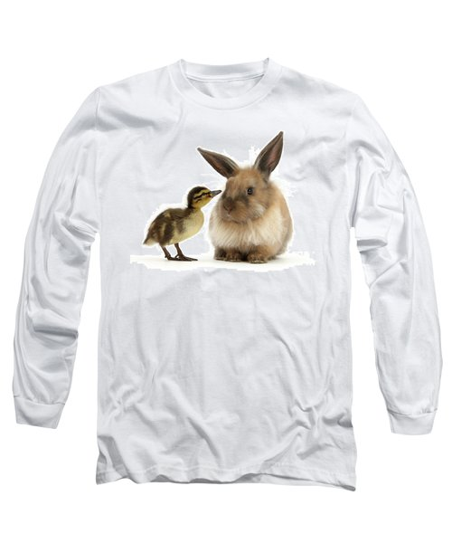 Duck Out Bunny Long Sleeve T-Shirt