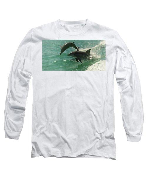 Duet Long Sleeve T-Shirt by Cassandra Buckley