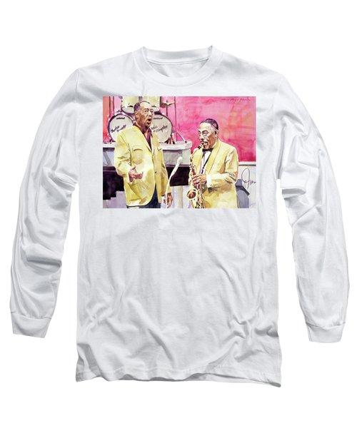 Duke Ellington And Johnny Hodges Long Sleeve T-Shirt
