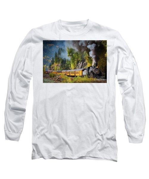 Durango-silverton Narrow Gauge Railroad Long Sleeve T-Shirt