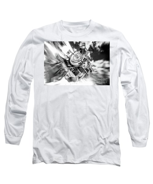 Durango Silverton Train Arrives Long Sleeve T-Shirt