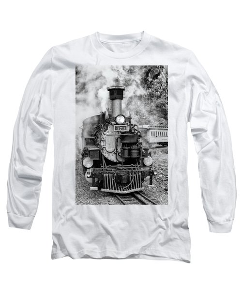 Durango Silverton Train Engine Long Sleeve T-Shirt