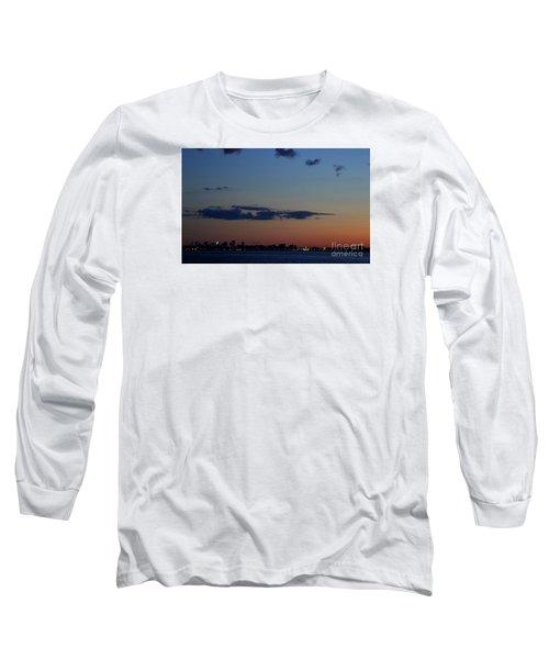 Dusk Over Boston Long Sleeve T-Shirt