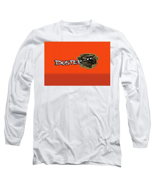 Long Sleeve T-Shirt featuring the photograph Duster Emblem by Mike McGlothlen