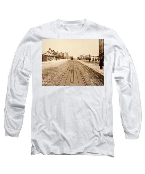 Dyckman House, 1928 Long Sleeve T-Shirt
