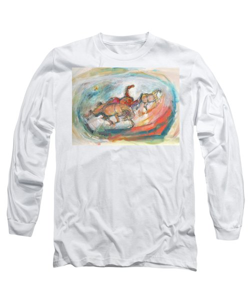 Dynamic Run Long Sleeve T-Shirt by Mary Armstrong