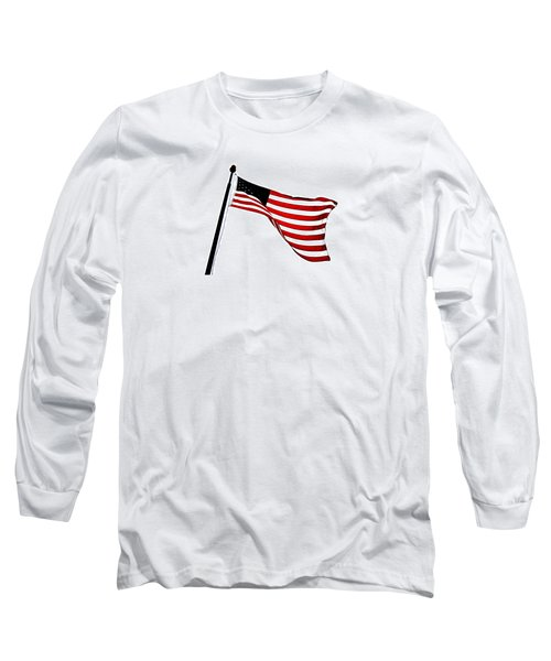 Dynamic Stars And Stripes Long Sleeve T-Shirt