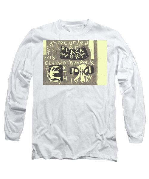 E Cd Grey Long Sleeve T-Shirt