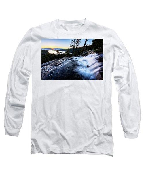 Eagle Falls At Emerald Bay Long Sleeve T-Shirt