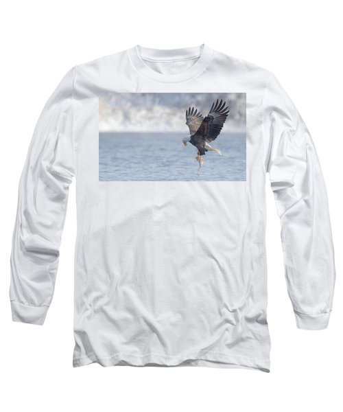 Eagle Fishing  Long Sleeve T-Shirt