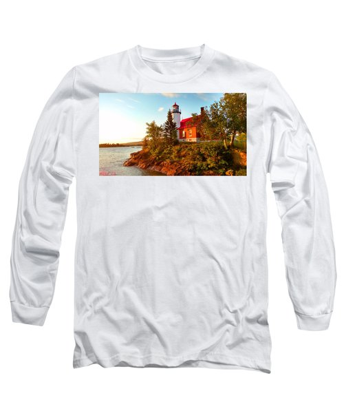 Eagle Harbor Lighthouse Long Sleeve T-Shirt