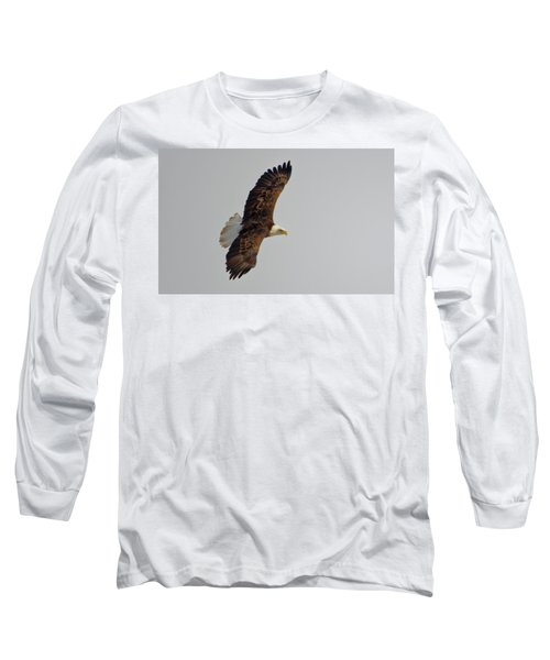 Eagle In Flight Long Sleeve T-Shirt