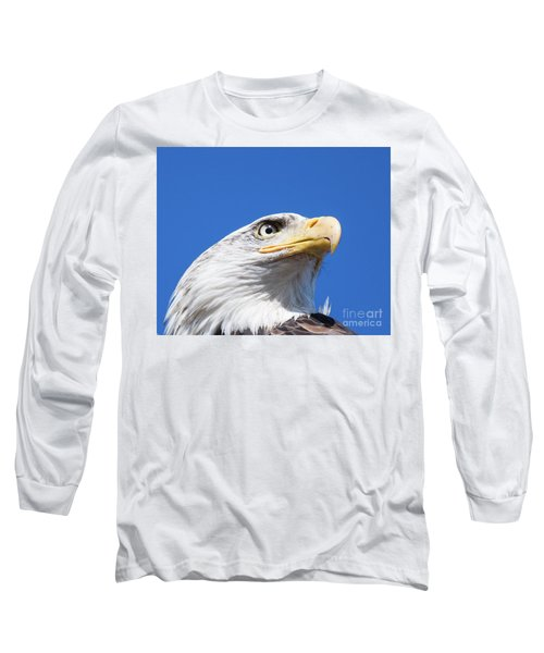 Long Sleeve T-Shirt featuring the photograph Eagle by Jim  Hatch