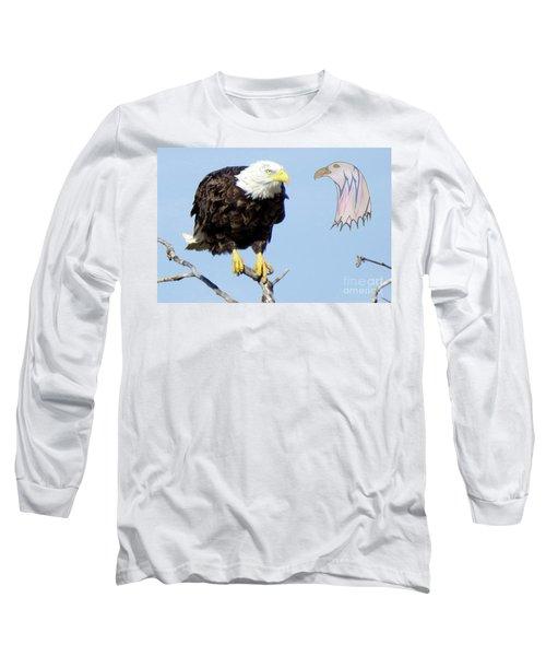 Eagle Reflection Long Sleeve T-Shirt