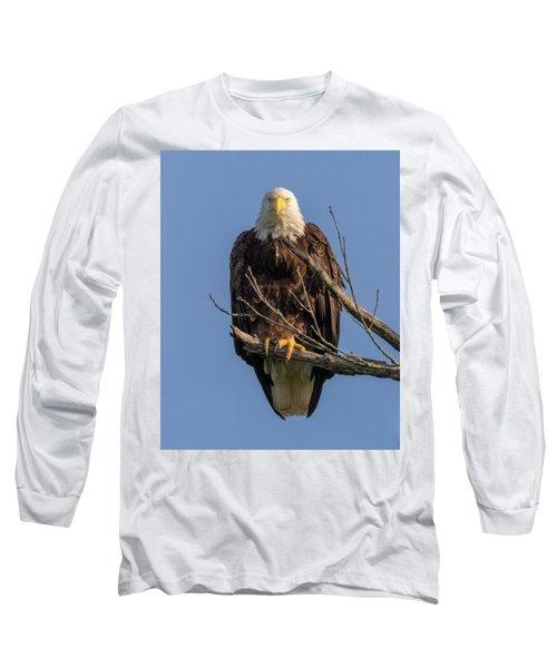 Eagle Stare Long Sleeve T-Shirt