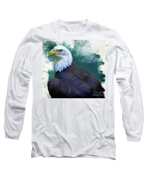 Eagle Long Sleeve T-Shirt by Suzanne Handel