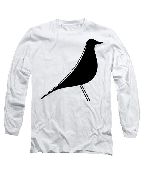 Eames Bird Transparent Long Sleeve T-Shirt