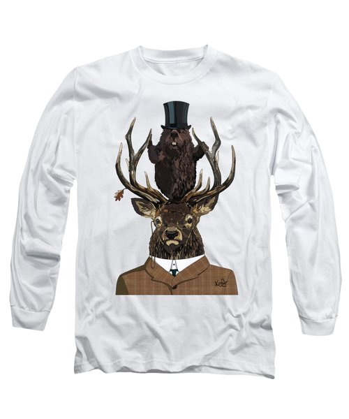 The Earl And Council With Hidden Pictures Long Sleeve T-Shirt by Konni Jensen