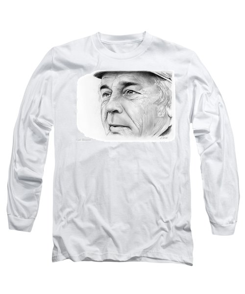 Earl Weaver Long Sleeve T-Shirt