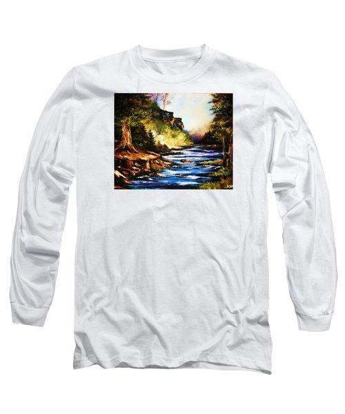 Early Dawn Campfire Long Sleeve T-Shirt