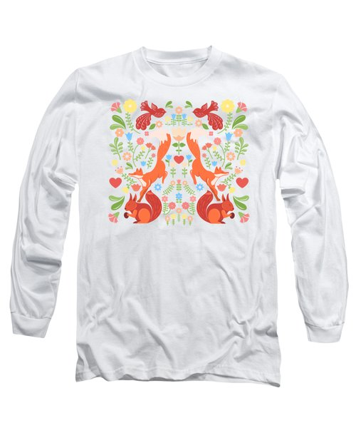 Early Fall Festival Flower Frolic  Long Sleeve T-Shirt