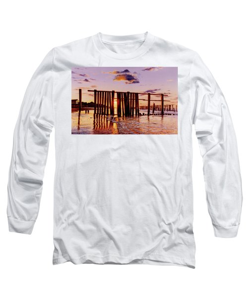 Early Morning Contrasts Long Sleeve T-Shirt