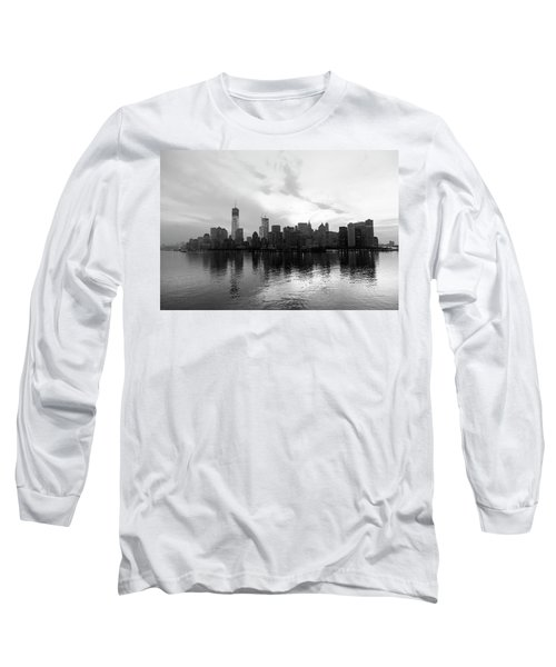 Early Morning In Manhattan Long Sleeve T-Shirt