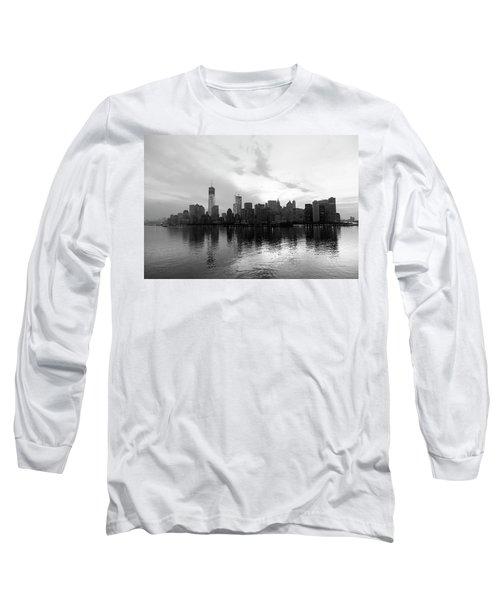 Early Morning In Manhattan Long Sleeve T-Shirt